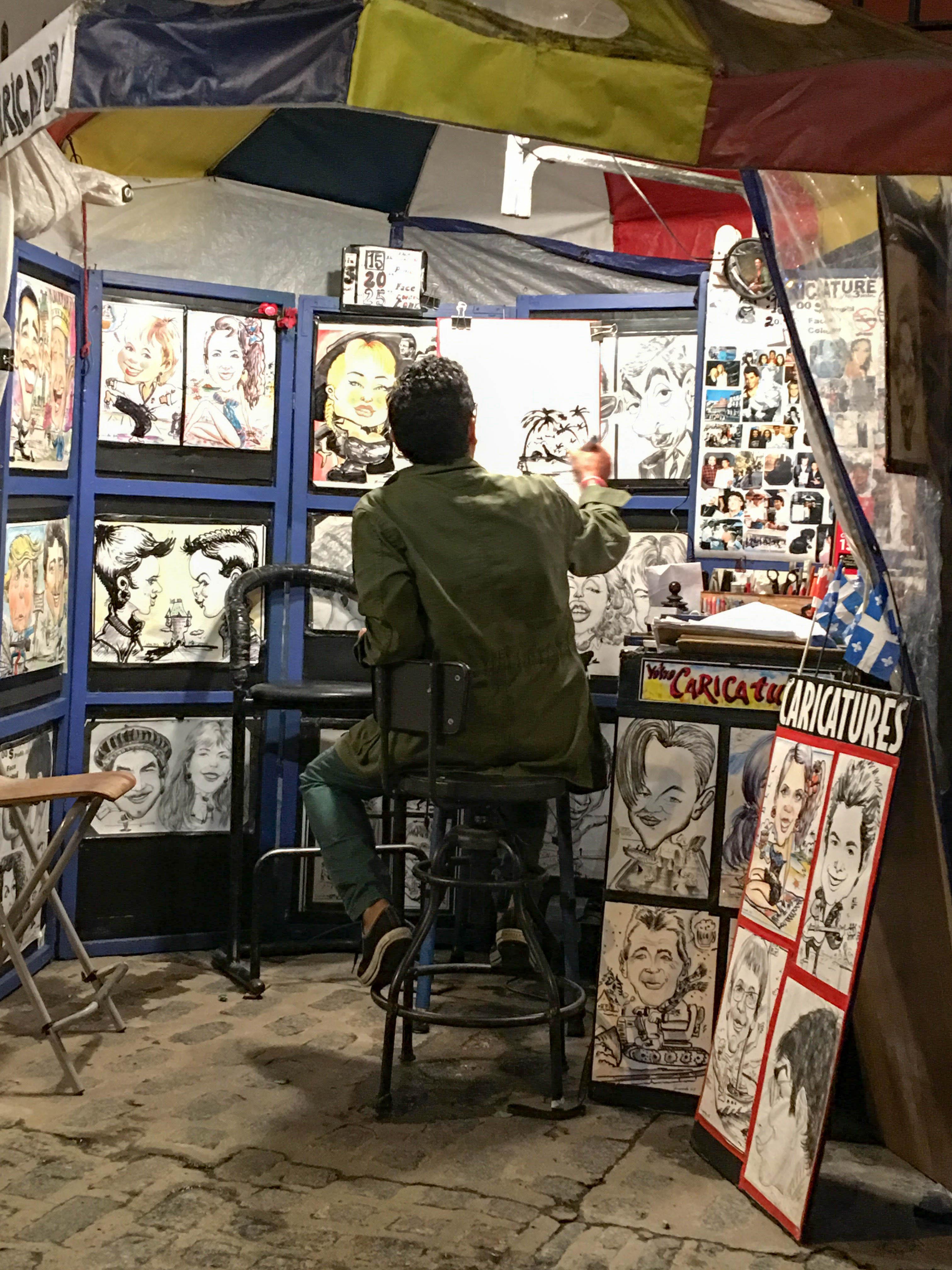 Local Cartoonist in quebec City